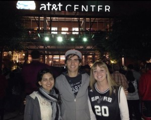 Spurs game 1