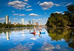 kayaking austin