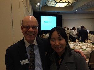 A luncheon was held in honor of Mr. Wall's service to ASCO and the field of optometry!